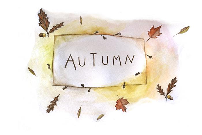 Autumn-lettering